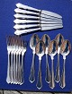 Rita silver flatware for 6 persons, in all 18 pieces