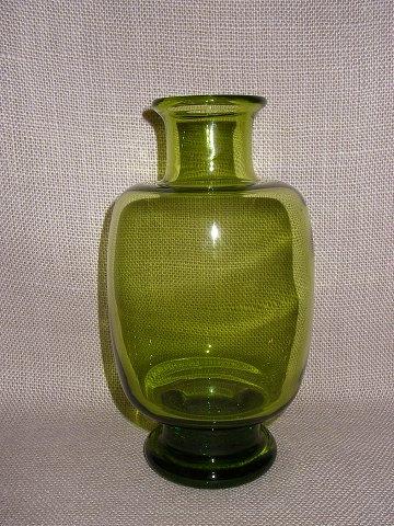 holmegaard vase grøn