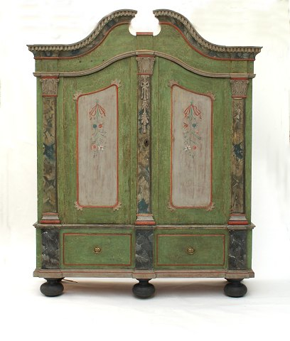 Original decorated cabinet Manifactured in North Schleswig