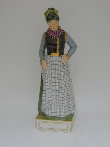 Royal Copenhagen figurine. Danish folk costumes Blaavandshuk