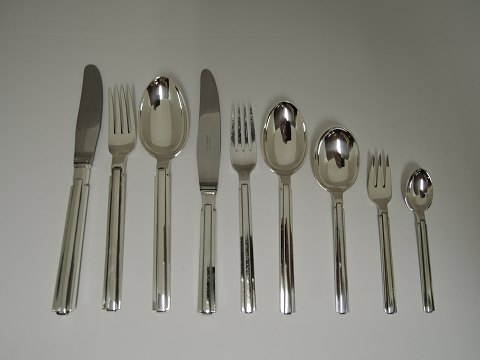 Hans Hansen silver Arvesölv no. 18 for 12 persons