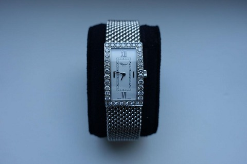 Chopard white gold wristwatch, 2003.
