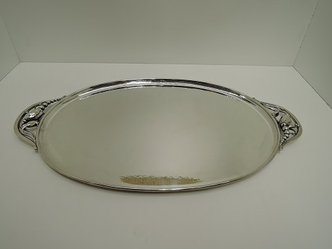 Georg Jensen Sterling (925) Blossom Oval tray design 2E