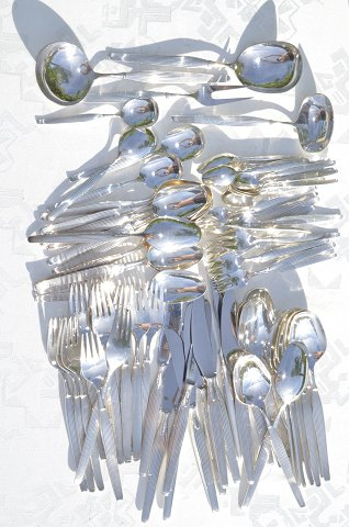 Silverplate Savoy Cutlery for 12 Persons