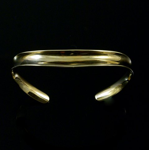 Palle Bisgaard - Denmark. 14k Gold Bangle #3. 1960s