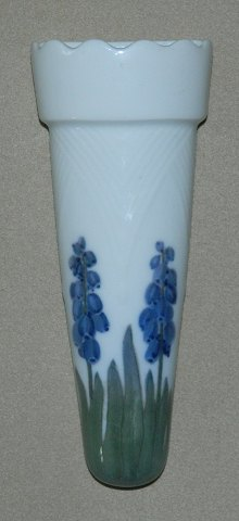 Art Nouveau vase in porcelain from Royal Copenhagen