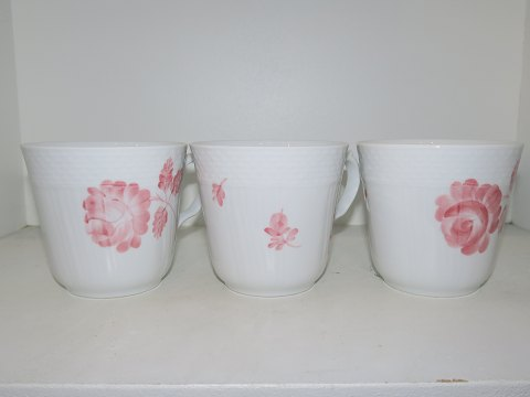 Royal Copenhagen Pink Curved Rare, large cups
