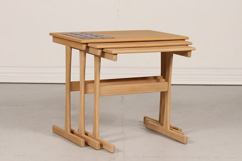 Danish Modern Nestingtables of oak
