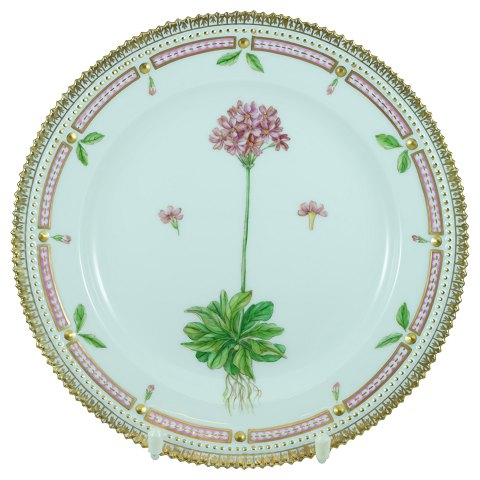 Royal Copenhagen, Flora Danica; Lunch plate #3550