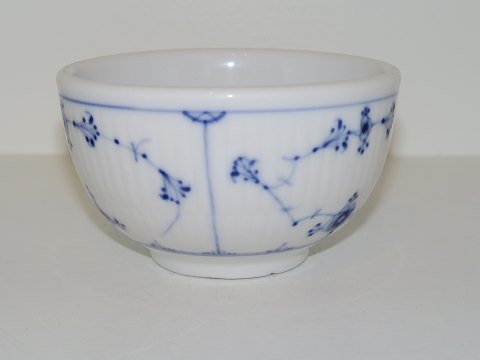 Blue Fluted Plain Hotel porcelain Small round bowl from 1870-1893