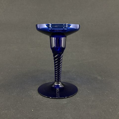 Amager candle stick in blue