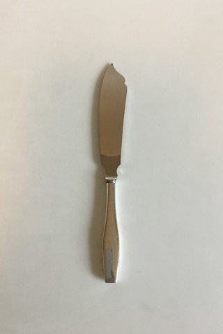 Hans Hansen Steling Silver and Stanless Steel Charlotte Cake Knife