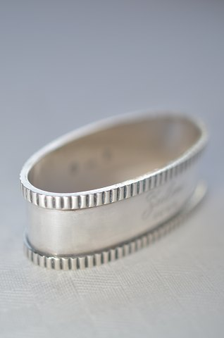 Danish silver Napkin ring