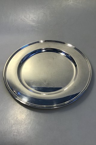 Set of 8 Svend Toxværd Silver Charger/Plate