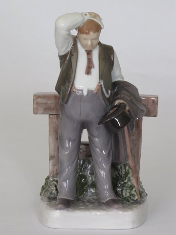The thirsty man B & G Porcelain