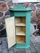 Danish corner cabinet of painted pine