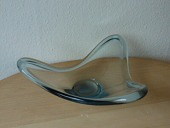 Holmegaard Art Glass Bowl