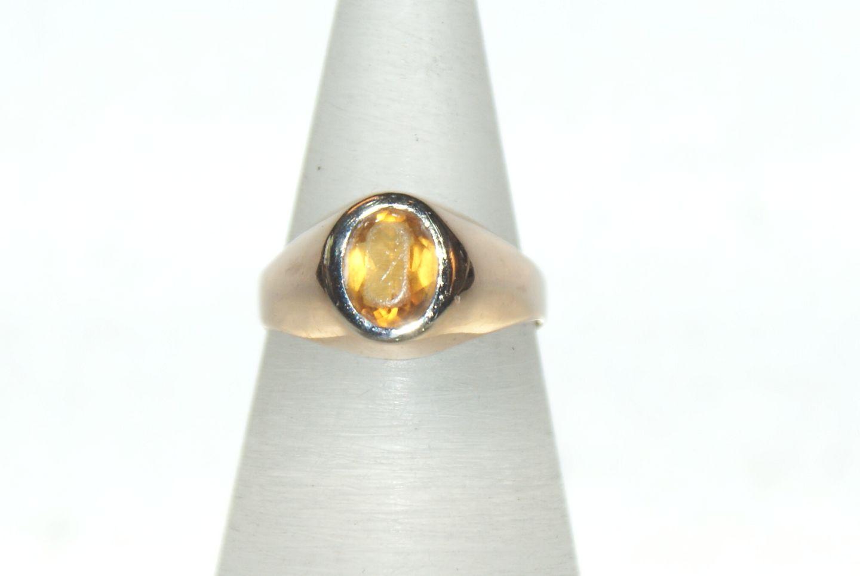 gul sten ring