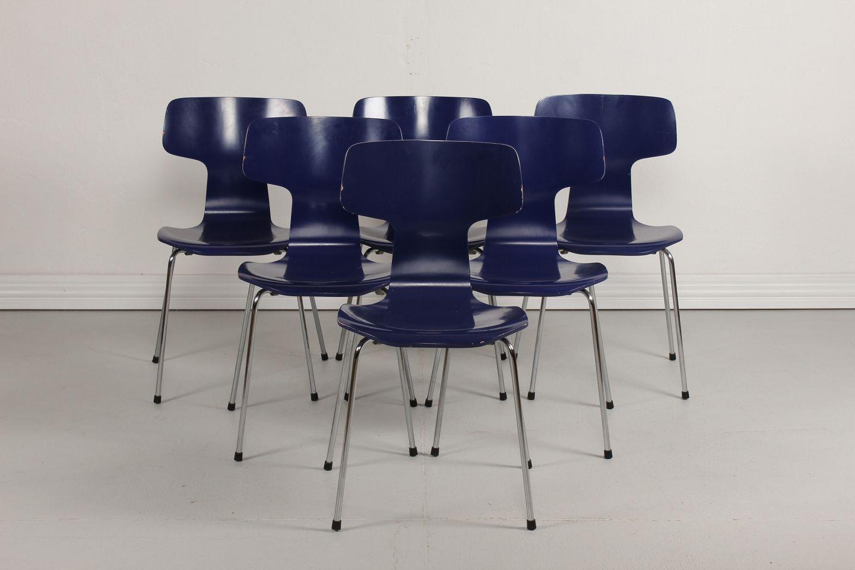 Arne Jacobsen Stoel : Worldantique.net arne jacobsen * * hammer chair * aj 3103 *