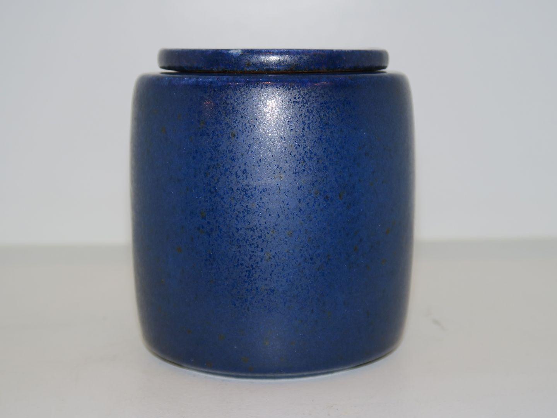 saxbo keramik WorldAntique.  Saxbo Art pottery * * Blue marmelade jar saxbo keramik