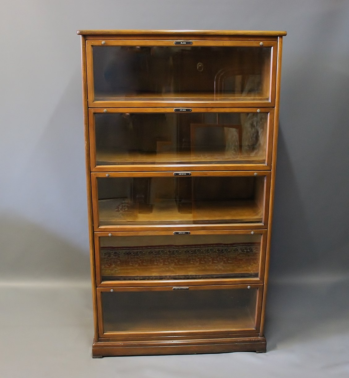 French Apothecary Cabinet In Mahogany From The 1960s. 5000m2 Showroom.