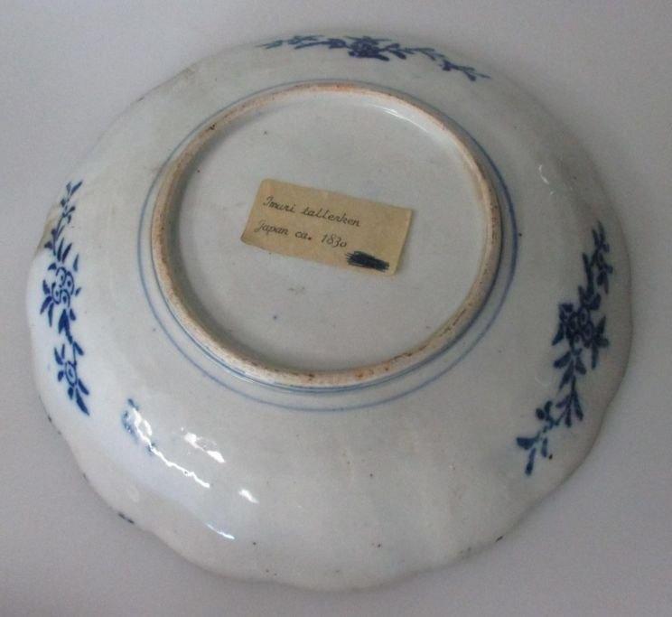Japanese Imari plate  19th century